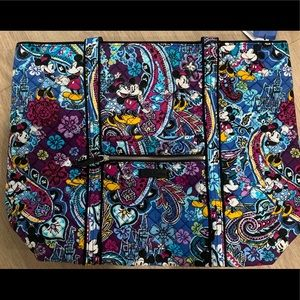 New Disney Vera Bradley Paisley Celebration Tote